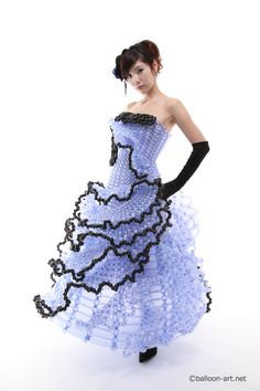 balloon dress  山北由香バルーンアート・オフィシャルサイト | | バルーンドレス 2012 Spring