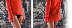 "#SS14 - frauen - cashmere pullover ""wide thin"" summer edition - flamingo. #featherlight #summercashmere #flamingo #neyomadeinnepal"