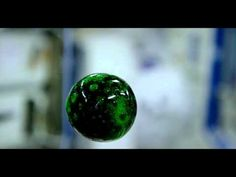 NASA Shares Beautiful 4K Footage of Colorful Liquid Floating on the International Space Station