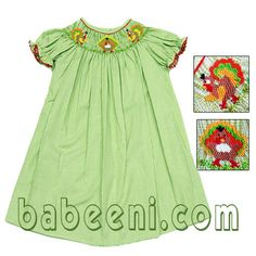 smocked dress,baby girl dress at http://babeeni.com/