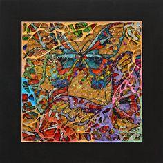 'Pretty Butterflies'  Artist: Peggy Lindstrom | por Lin Schorr