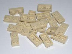 LEGO 20 Tan Plates 1 x 2 75052 #LEGO
