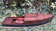 Bing Bassett Lowke 1933 Broads Cruiser boat Winteringham motor 25 inch by 6 inch  | eBay