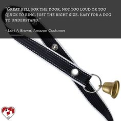 What does our friend Lori has to say about our potty training bells? Click the link in our bio to get yours. #dogtraining #dogpotty #pottybells #pottytraining #dogs #dogstagram #dogsofinstagram #puppiesofinstagram #puppystagrams #puppycraze #puppies #petsloversclub #instadog #instadogs #love #petsloversclub #dogphotography #petstagram #dailydog #dogoftheday
