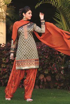 Banarasi Jacquard Fabric #Patiala Style #Suit   #salwarsuit #craftshopsindia