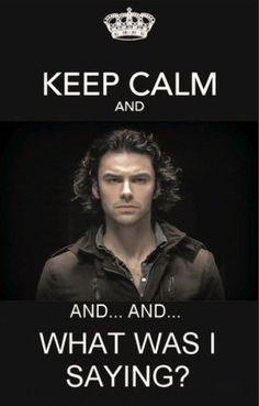 Keep Calm - Aidan Turner / The Hobbit. I think I'm going to die! Aidan Turner Kili, Aidan Turner Poldark, Aiden Turner, Poldark 2015, Ross Poldark, Poldark Series, Manado, Being Human Bbc, Fili And Kili