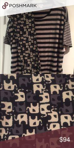 Lularoe Outfit - TC Elephants + XS Irma Brand New Both brand new with tags LuLaRoe Pants Leggings