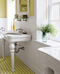 11. Use Water-Resistant Wainscot