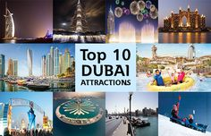 Dubai Top 10 Tourist Attractions - Here is a list of best Place of Dubai that will surely make you able to plan a visit to Dubai. ‪#‎Top10Attractions‬ ‪#‎DubaiTour‬ ‪#‎MyDubai‬ ‪#‎Dubai‬ ‪#‎DubaiAttraction‬ ‪#‎GalaxyTourism‬ Read More:- http://goo.gl/38wWBK