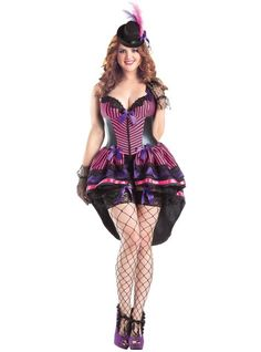 Adult Burlesque Body Shaper Costume Plus Size - Party City. Just for inspiration.  sc 1 st  Pinterest & Plus Size Adult Glinda the Good Witch Deluxe Costume   Glinda costume