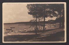 Estonia Võsu Beach Postcard, s.1934