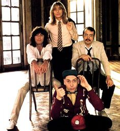 Cheap Trick, the band I have seen most in concert. Will go see them again and again!