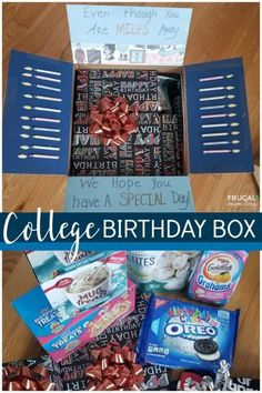Birthday Traditions, Birthday Celebrations, Family Traditions, Birthday Box, Birthday Gifts, Friend Birthday, Birthday Ideas, Missionary Care Packages, Care Box