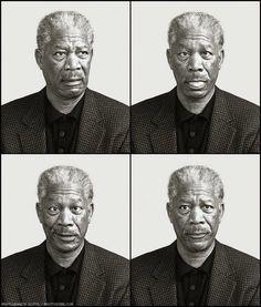 Morgan Freeman... Can't argue with God!