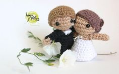 wedding amigurumi free crochet pattern with video tutorial