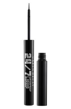 Urban Decay 'Perversion' 24/7 Waterproof Liquid Eyeliner | My personal favorite liquid eyeliner. It goes on so cleanly and is absolute perfection. I'm wearing it right now and practically wear it everyday in all colors.