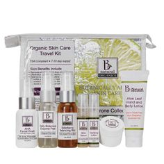 Be Natural Organics Acne-Prone Travel Collection