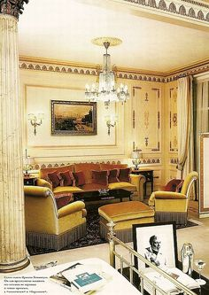 Coco Chanel hotel suite details at the Ritz