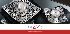 Explore our unique Silver Candle Stand Collection Today!  +91-7308363621 | hello@episodesilver.com  #Episode #SilverGifts #SterlingSilver #UniqueSilverGifts