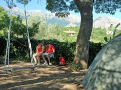Tent & Breakfast. Pitch your tent in our garden and we will prepare you a delicious breakfast! In Castelbuono - Madonie, Sicily http://homemadesicily.com/en/where-to-sleep/tent-breakfast-camping-at-the-locals/
