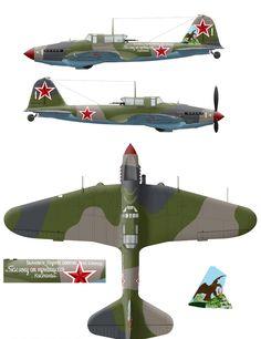 Ил-2 тип 3 дважды Героя Советского Союза И.Ф. Павлова 6-й ГвШАП.