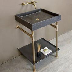 Modular bath consoles?Interchangeable accessories, sinks, & storage, what?!