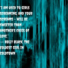The Coldest Girl in Cold Town Holly Black
