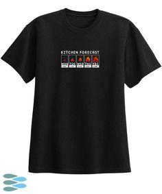 Black Kitchen Forecast T-Shirt