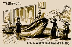 Graphic Novel 'The Tragedy Series' Illustrates Life's Many Absurdities