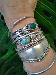 Gypsy Coin Bracelet Yes! I love wearing this with my other favorite bracelets, and the coins jingle! Real sliver overlay bracelet from Turkey, not to be mistaken for other inauthentic look alikes. Silver Jewelry Box, Bohemian Jewelry, Turquoise Jewelry, Bridal Jewelry, Sterling Silver Jewelry, Silver Ring, Silver Metal, Gold Jewellery, Silver Earrings