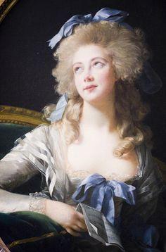 The light in this is amazing! • Madame Grand (Noël Catherine Verlée, 1761–1835), Later Madame de Talleyrand Périgord, Princesse de Bénévent Élisabeth Louise Vigée Le Brun (French, Paris 1755–1842 Paris), 1783