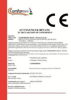 Yüksek kalitede hizmek vermenin yanında CE belgemizi de sunarız!