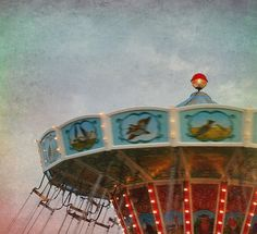 on a carousel by la sucette