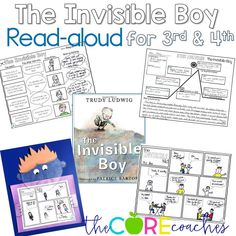 Four day read-aloud lesson plans using picture books for upper elementary.