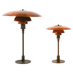 Extreme rare big PH 4.5/3  lamp Poul Henningsen , Louis Poulsen, PATT APPL.