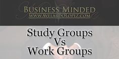 """""""Study Groups Vs. Work Groups"""" Business Minded- Season 001 - Episode - 003  There are advantages and disadvantages when working/studying in groups. Today we reflect on what working in groups could help you learn about yourself, your talents, and the things you never thought you could do. As well, it can open a window at understanding how other people see you overall.   Mr. Avelardo Lopez / aka: Mr. Suave Article Post Link:  http://avelardolopez.com/study-groups-vs-work-groups/"""