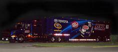 Toyota, Burger King, Dr. Pepper, Volvo, NASCAR, Transporter, Hauler