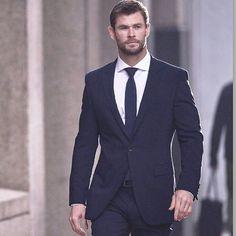 Chris Hemsworth for Hug Boss.