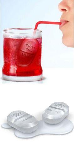 Chill Pill Ice Tray Set ♥