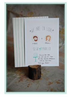 10 Free Wedding Invitation Printables - Upcycled Treasures
