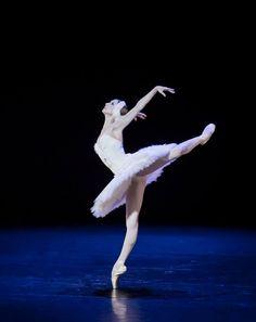 Svetlana Zakharova in The Dying Swan, music by Camille Saint-Saëns, choreography by Mikhail Fokine
