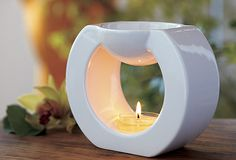 crisp white color + soft rounded shape + warm inviting flame = smells like home