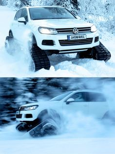 The 'Go Anywhere' VW Touareg V8 4.2TDI