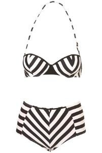 love the vintage swimsuit look!