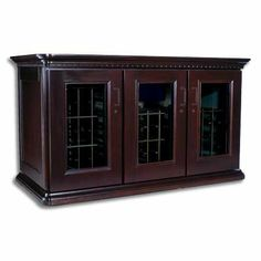 Le Cache Euro Credenza - Chocolate Cherry finish by Le Cache Premium Wine Cabinets ONLY $4599 http://www.amazon.com/gp/product/B003QCV4N6?ie=UTF8=A1419KZRNP4OQB=Gifts%20for%20You%20%27n%20Me