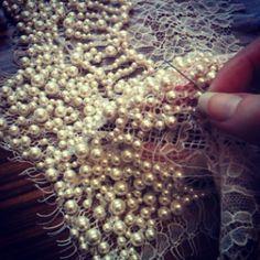 interiorlulu: Retour sur la couture de perles d'aujourd'hui ..
