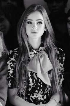 But how perfect is she? I'm actually obsessed with her