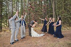 We love the idea of using leaves as confetti for a fall celebration!