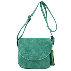 New Trending Make Up Bags: Tassel Accent Crossbody Bag with Flap Top Green. Tassel Accent Crossbody Bag with Flap Top Green   Special Offer: $25.99      266 Reviews Medium Size Casual Crossbody Bag for Everyday Use with Tassel Accent.10.5″ (L) x 9″ (H) x 4.5″ (D)Zipper closure with flapFaux leather  gold tone hardwareAdjustable shoulder...