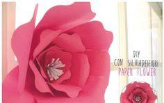 Fiori di carta fai da te: il tutorial dei paper flower di Silviadefiori - Ecco…
